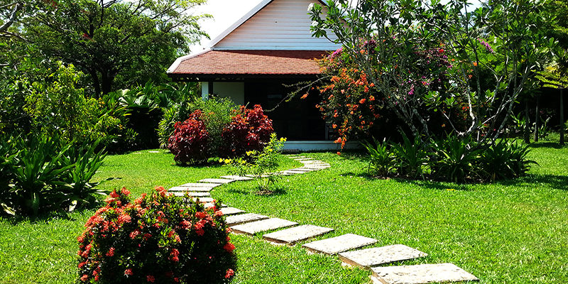 Private Villas surrounded by Green in Kep