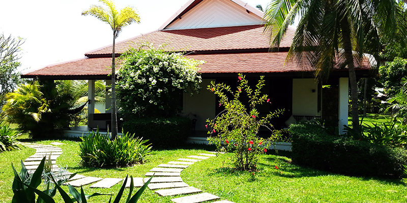 Private Villas surrounded by Green