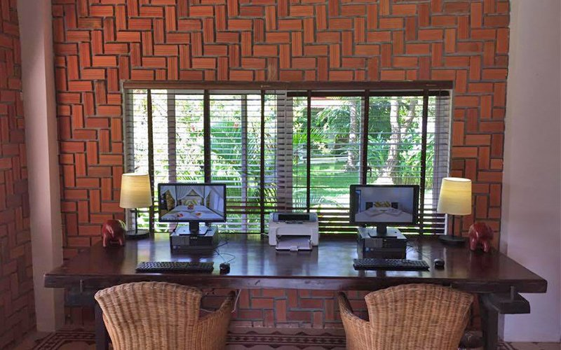 Business Center Facilities at Samanea Beach Resort in Kep