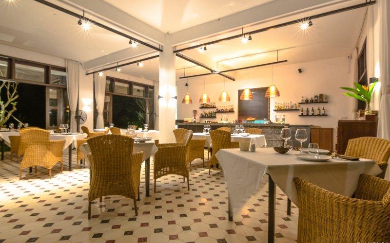 CHANKIRI Restaurant Facilities at Samanea Beach Resort in Kep