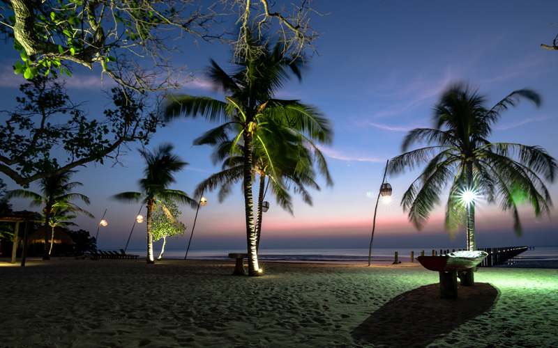 Sunset at the Beach in Kep Gallery