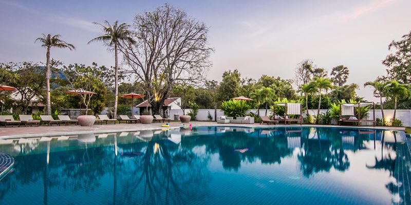 Pool at Samanea in Kep