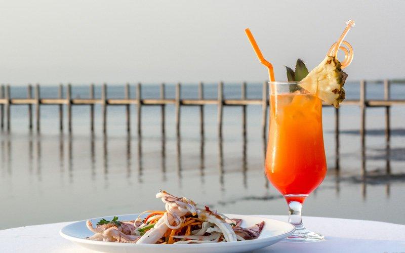 Seafood Beach BBQ at Samanea Beach Resort in Kep