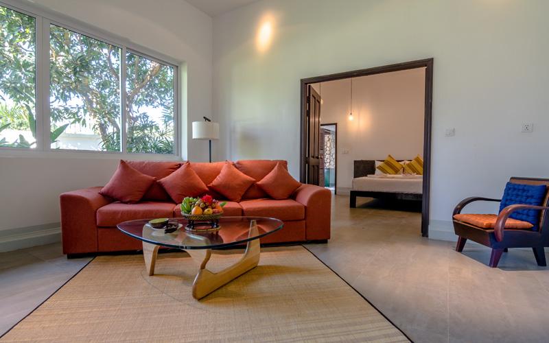 Separate Guestroom in Junior Suite Villa in Kep