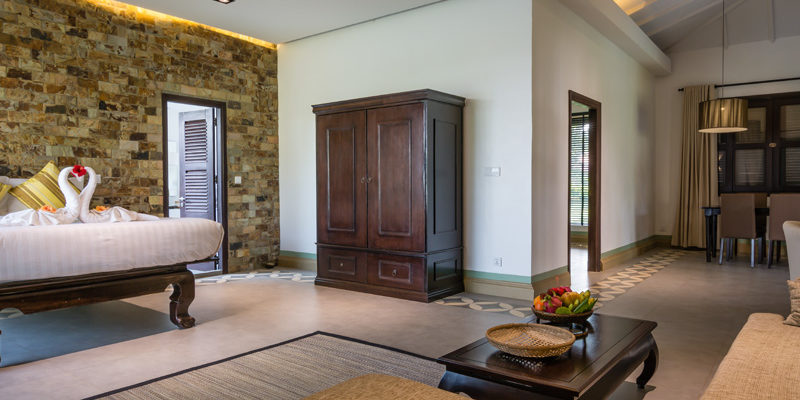 Large living Area in Family Villa in Kep
