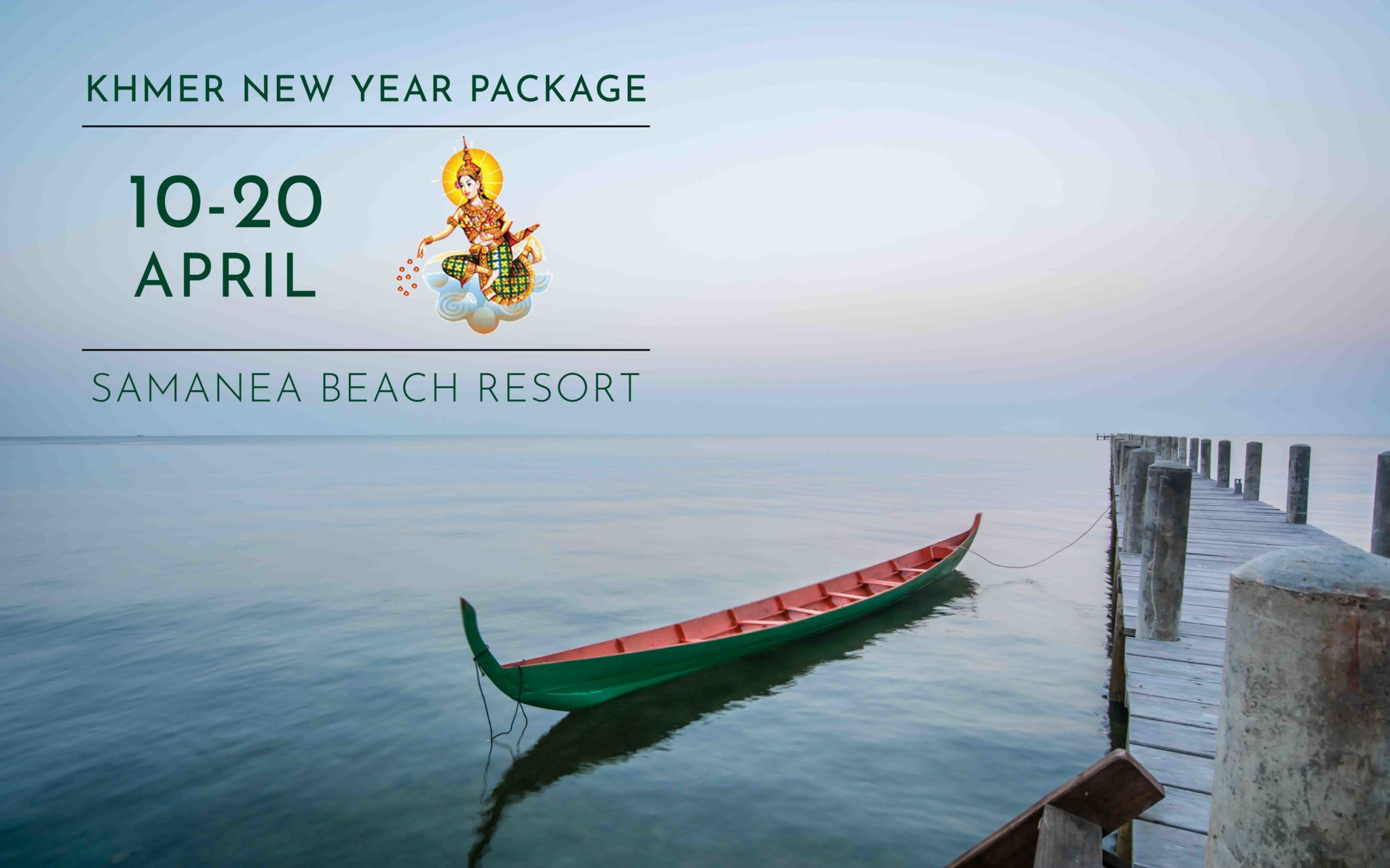 Khmer new year package promotion
